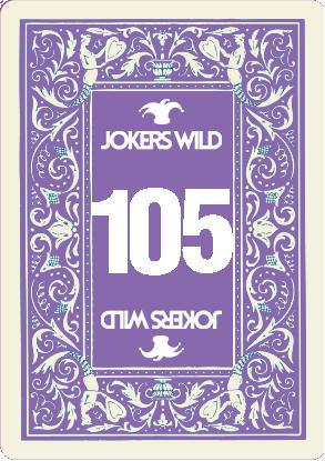 Buy a Jokers Wild Live raffle ticket today! Jokers Wild Card 105