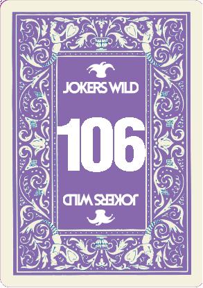 Buy a Jokers Wild Live raffle ticket today! Jokers Wild Card 106