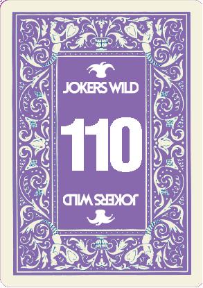 Buy a Jokers Wild Live raffle ticket today! Jokers Wild Card 110