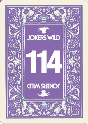 Buy a Jokers Wild Live raffle ticket today! Jokers Wild Card 114