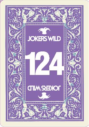Buy a Jokers Wild Live raffle ticket today! Jokers Wild Card 124