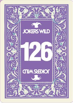 Buy a Jokers Wild raffle ticket today! Jokers Wild Card 126