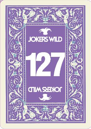 Buy a Jokers Wild raffle ticket today! Jokers Wild Card 127