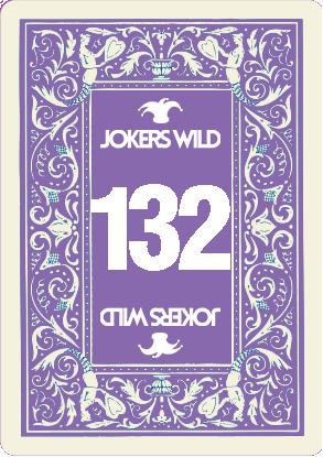 Jokers Wild raffle-Card 132