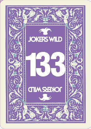 Buy a Jokers Wild raffle ticket today! Jokers Wild Card 133