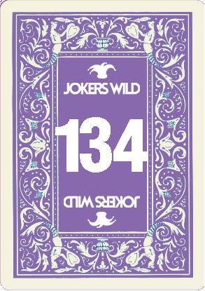 Buy a Jokers Wild raffle ticket today! Jokers Wild Card 134