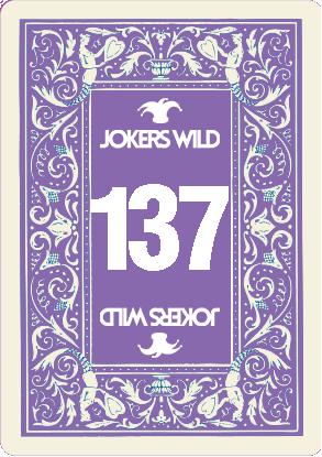 Buy a Jokers Wild raffle ticket today! Jokers Wild Card 137