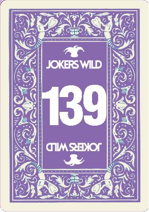 Buy a Jokers Wild raffle ticket today! Jokers Wild Card 139