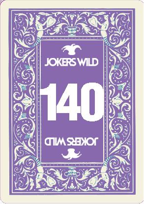 Buy a Jokers Wild raffle ticket today! Jokers Wild Card 140
