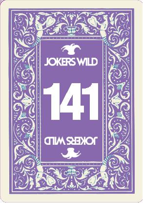 Buy a Jokers Wild raffle ticket today! Jokers Wild Card 141
