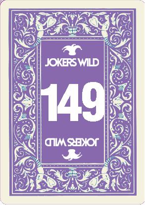 Buy a Jokers Wild raffle ticket today! Jokers Wild Card 149