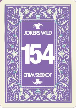 Buy a Jokers Wild raffle ticket today! Jokers Wild Card 154