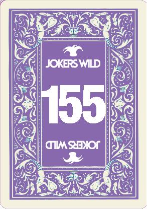 Buy a Jokers Wild raffle ticket today! Jokers Wild Card 155