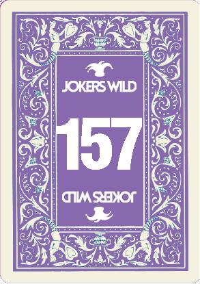 Buy a Jokers Wild Louisville raffle ticket today! Jokers Wild Card 157