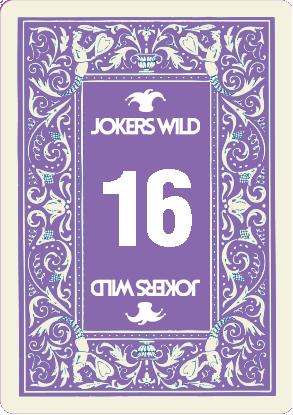 Buy a Jokers Wild Louisville raffle ticket today! Jokers Wild Card 16