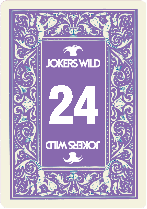 Buy a Jokers Wild Louisville raffle ticket today! Jokers Wild Raffle Card 24