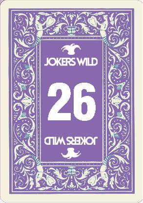 Buy a Jokers Wild Louisville raffle ticket today! Jokers Wild Raffle Card 26