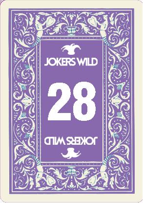 Buy a Jokers Wild Louisville raffle ticket today! Jokers Wild Raffle Card 28