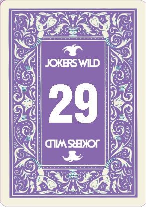 Buy a Jokers Wild Louisville raffle ticket today! Jokers Wild Raffle Card 29