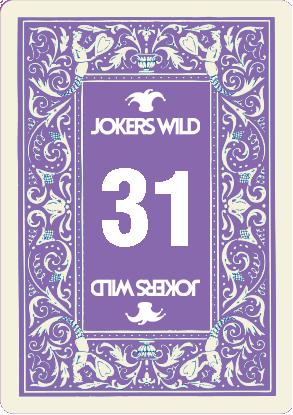 Buy a Jokers Wild Louisville raffle ticket today! Jokers Wild Raffle Card 31