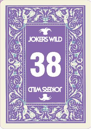 Buy a Jokers Wild Louisville raffle ticket today! Jokers Wild Raffle Card 38