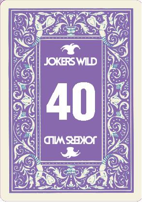 Buy a Jokers Wild Louisville raffle ticket today! Jokers Wild Raffle Card 40