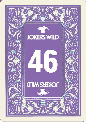 Buy a Jokers Wild Louisville raffle ticket today! Jokers Wild Raffle Card 46