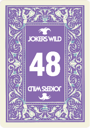 Buy a Jokers Wild Louisville raffle ticket today! Jokers Wild Raffle Card 48
