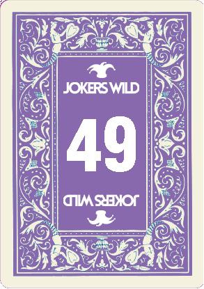 Buy a Jokers Wild Louisville raffle ticket today! Jokers Wild Raffle Card 49