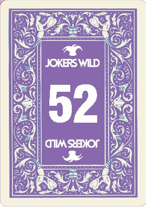 Buy a Jokers Wild Louisville raffle ticket today! Jokers Wild Raffle Card 52
