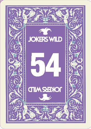 Buy a Jokers Wild Louisville raffle ticket today! Jokers Wild Raffle Card 54