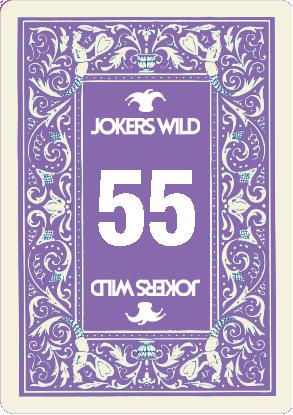 Buy a Jokers Wild Louisville raffle ticket today! Jokers Wild Raffle Card 55