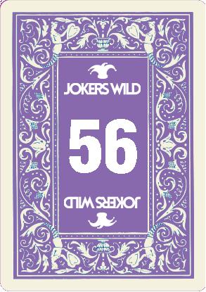 Buy a Jokers Wild Louisville raffle ticket today! Jokers Wild Raffle Card 56
