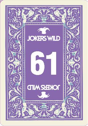 Buy a Jokers Wild Louisville raffle ticket today! Jokers Wild Raffle Card 61