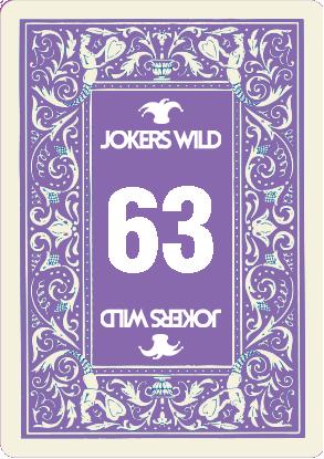 Buy a Jokers Wild Louisville raffle ticket today! Jokers Wild Raffle Card 63
