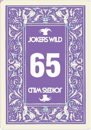 Buy a Jokers Wild Louisville raffle ticket today! Jokers Wild Raffle Card 65