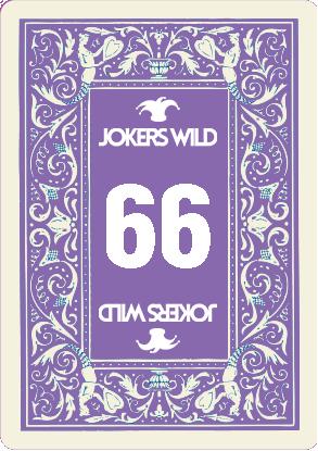 Buy a Jokers Wild Louisville raffle ticket today! Jokers Wild Raffle Card 66