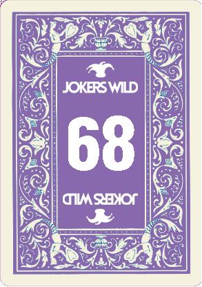 Buy a Jokers Wild Louisville raffle ticket today! Jokers Wild Raffle Card 68