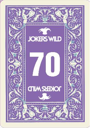 Buy a Jokers Wild Louisville raffle ticket today! Jokers Wild Raffle Card 70