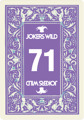Buy a Jokers Wild Louisville raffle ticket today! Jokers Wild Raffle Card 71