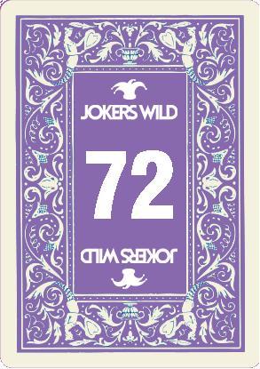 Buy a Jokers Wild Louisville raffle ticket today! Jokers Wild Raffle Card 72