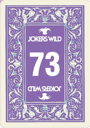 Buy a Jokers Wild Louisville raffle ticket today! Jokers Wild Raffle Card 73