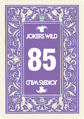 Buy a Jokers Wild Louisville raffle ticket today! Jokers Wild Raffle Card 85