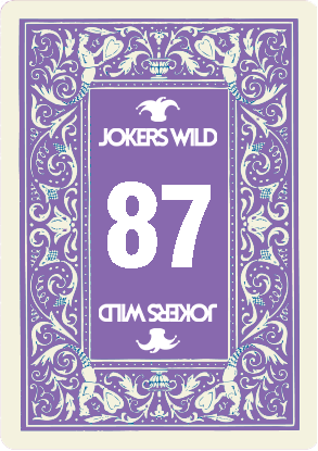 Buy a Jokers Wild Louisville raffle ticket today! Jokers Wild Raffle Card 87