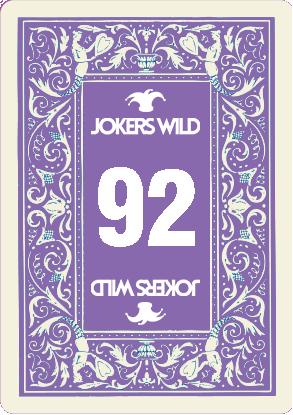 Buy a Jokers Wild Louisville raffle ticket today! Jokers Wild Raffle Card 92