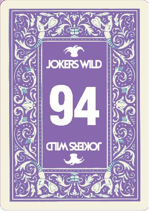 Buy a Jokers Wild Louisville raffle ticket today! Jokers Wild Raffle Card 94