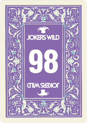 Buy a Jokers Wild Louisville raffle ticket today! Jokers Wild Raffle Card 98